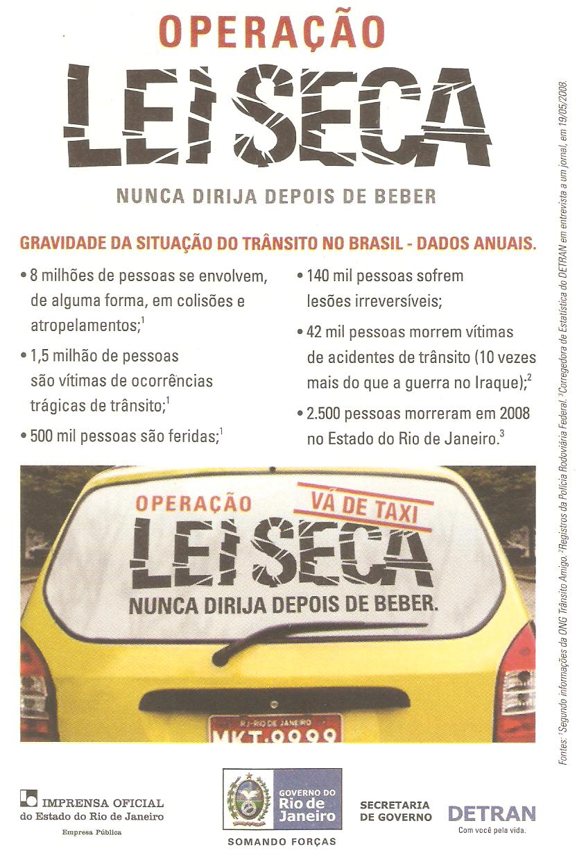Detran1 Drunk Driving in Brazil
